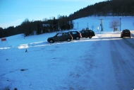Lyžařský vlek Metlák - parkoviště