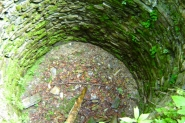 Hrad Nístějka - zbytky hlavní věže.