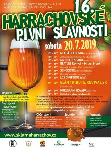 Harrachovské pivní slavnosti 2019