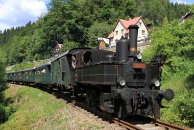 Krkonošský parní víkend - jízdy historickým parním vlakem v Jablonci nad Jizerou